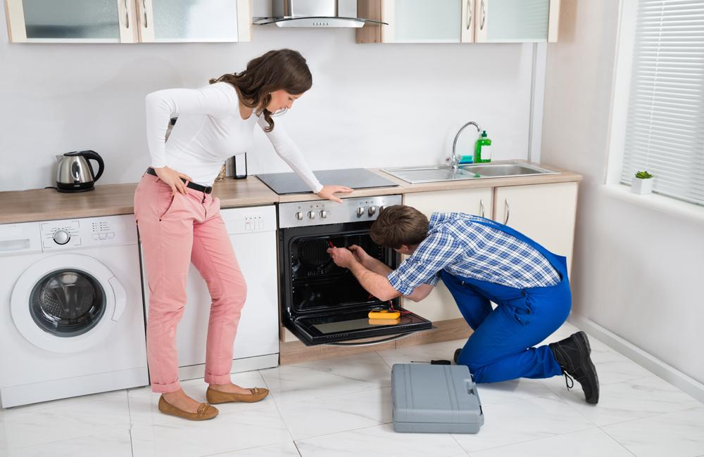 oven repair job to professionals