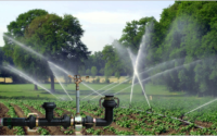 water does a residential irrigation system use